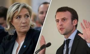Γαλλία: Οι δημοσκοπήσεις «δείχνουν» Μακρόν με δεύτερη τη Λεπέν