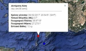 Σεισμός ΤΩΡΑ: Ταρακουνήθηκε η Κάρπαθος