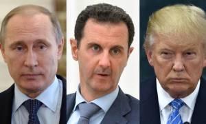 Στα «σκαριά» ισχυρό μέτωπο Τραμπ, Πούτιν και Άσαντ στον πόλεμο κατά του ISIS