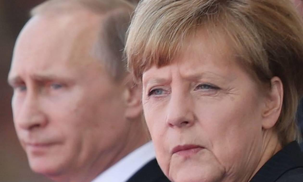 Τηλεφωνική επικοινωνία Μέρκελ-Πούτιν: Τι συζήτησαν