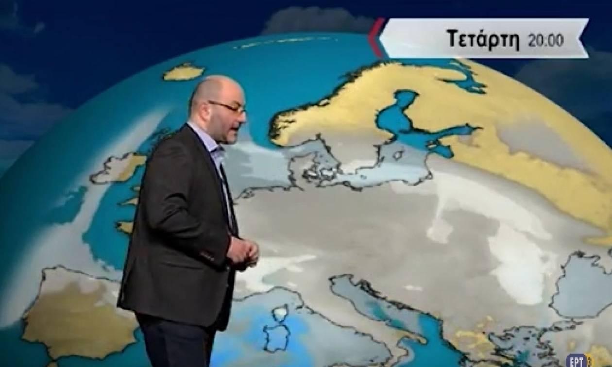 Καιρός - Σάκης Αρναούτογλου: Εως και 10 βαθμούς η πτώση της θερμοκρασίας... (Video)