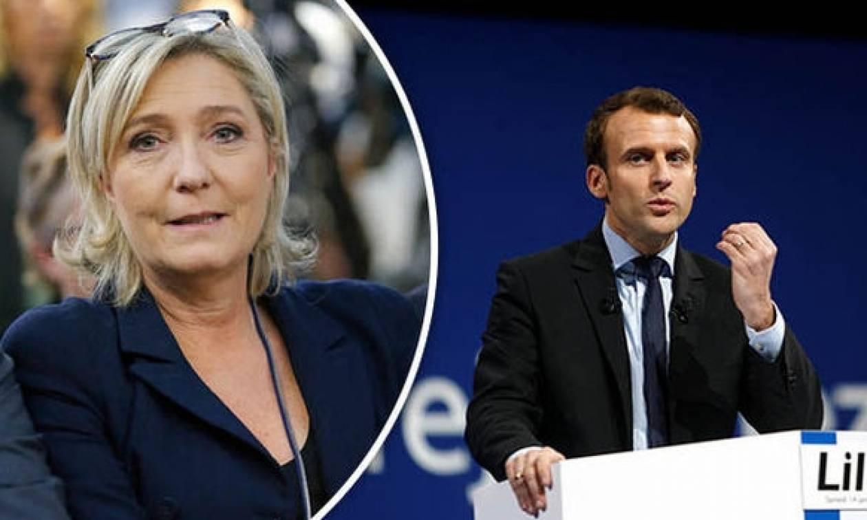 Νέα δημοσκόπηση στη Γαλλία: Ο Μακρόν κερδίζει άνετα την Λεπέν