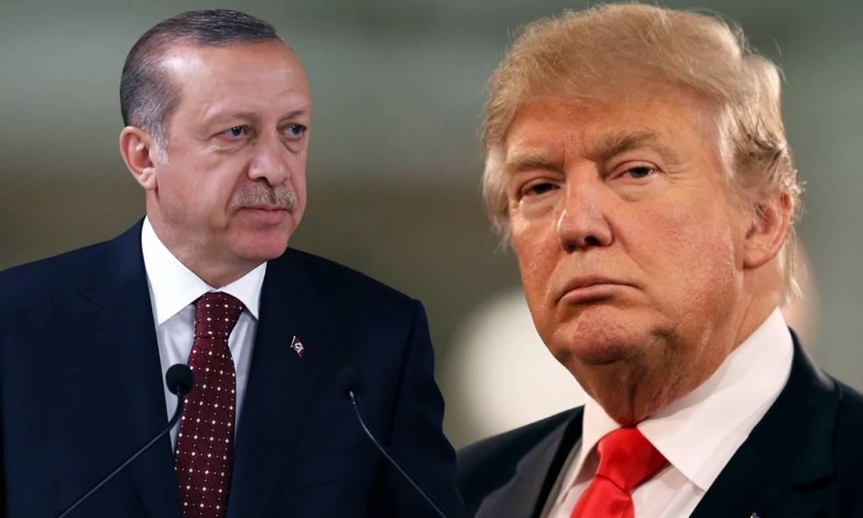 Αποτέλεσμα εικόνας για τραμπ ερντογάν