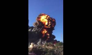 Συναγερμός στην Ισπανία: Ισχυρή έκρηξη στη Βαλένθια (Vids)