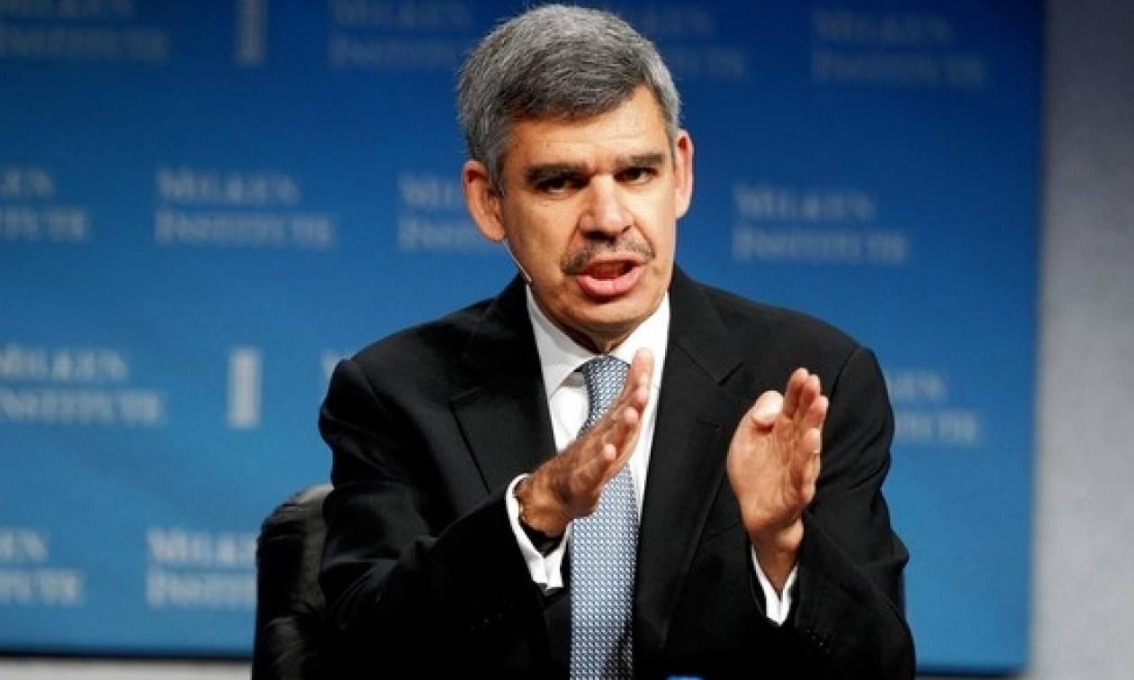 Ελ Εριάν: To ΔΝΤ έχει δίκιο για τη μείωση του ελληνικού χρέους