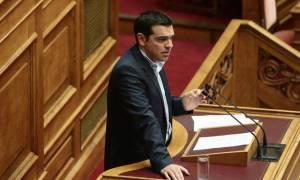 Ο Αλέξης Τσίπρας απαντά στη Βουλή για τη διαφθορά