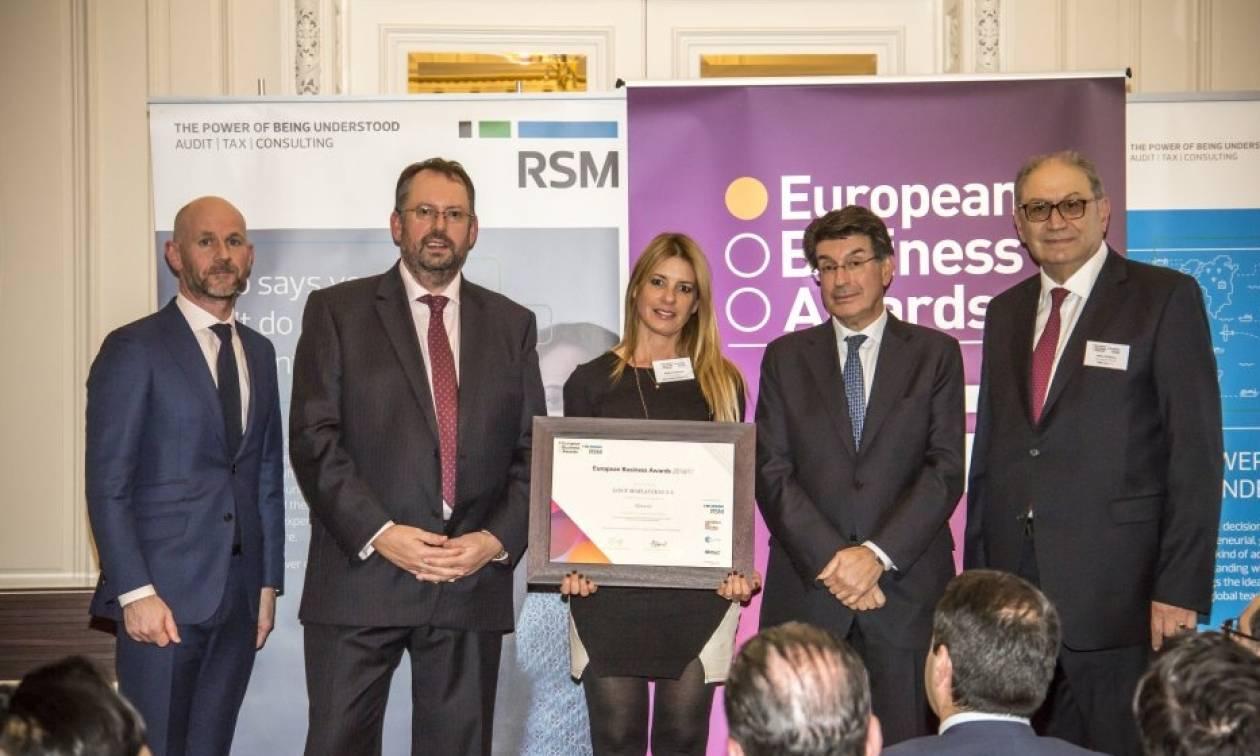Η Λουξ περνά στη 2η φάση του διαγωνισμού των European Business Awards sponsored by RSM