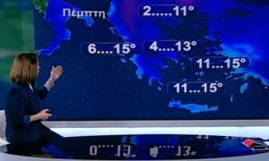 Χριστίνα Σούζη: Μέχρι το Σαββατοκύριακο θα το νιώσουμε καλά το κρύο... (video)