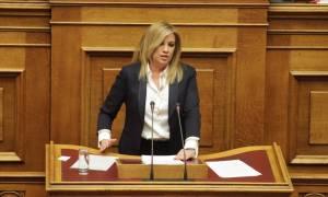 Διακομματική επιτροπή για τα ΜΜΕ ζητά η Φώφη Γεννηματά