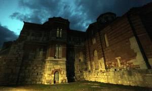 Εντυπωσιακές φωτογραφίες από την μονή του Οσίου Λουκά στη Βοιωτία