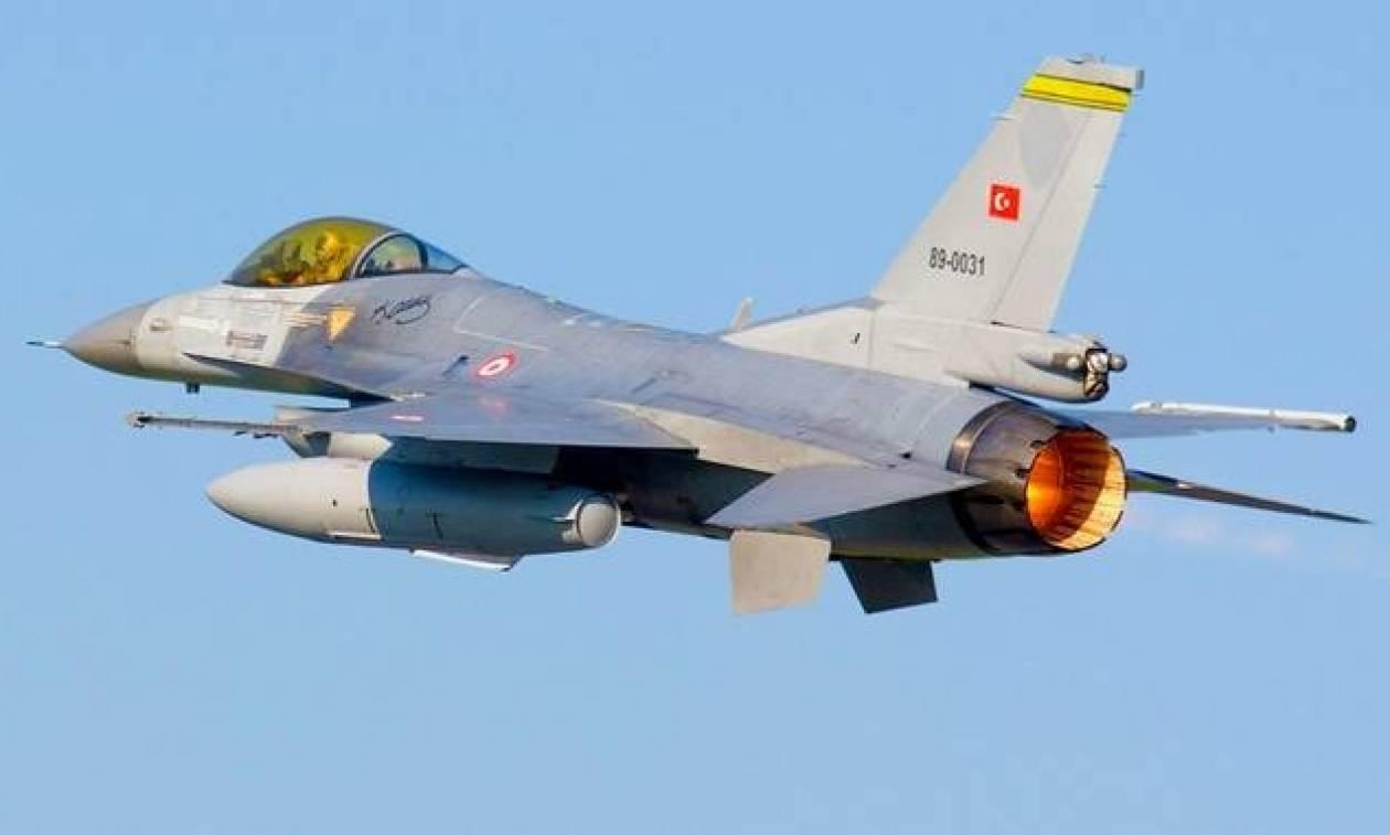 Τουρκικά αεροσκάφη πάνω από ελληνικά νησιά - Σε επιφυλακή η Πολεμική Αεροπορία