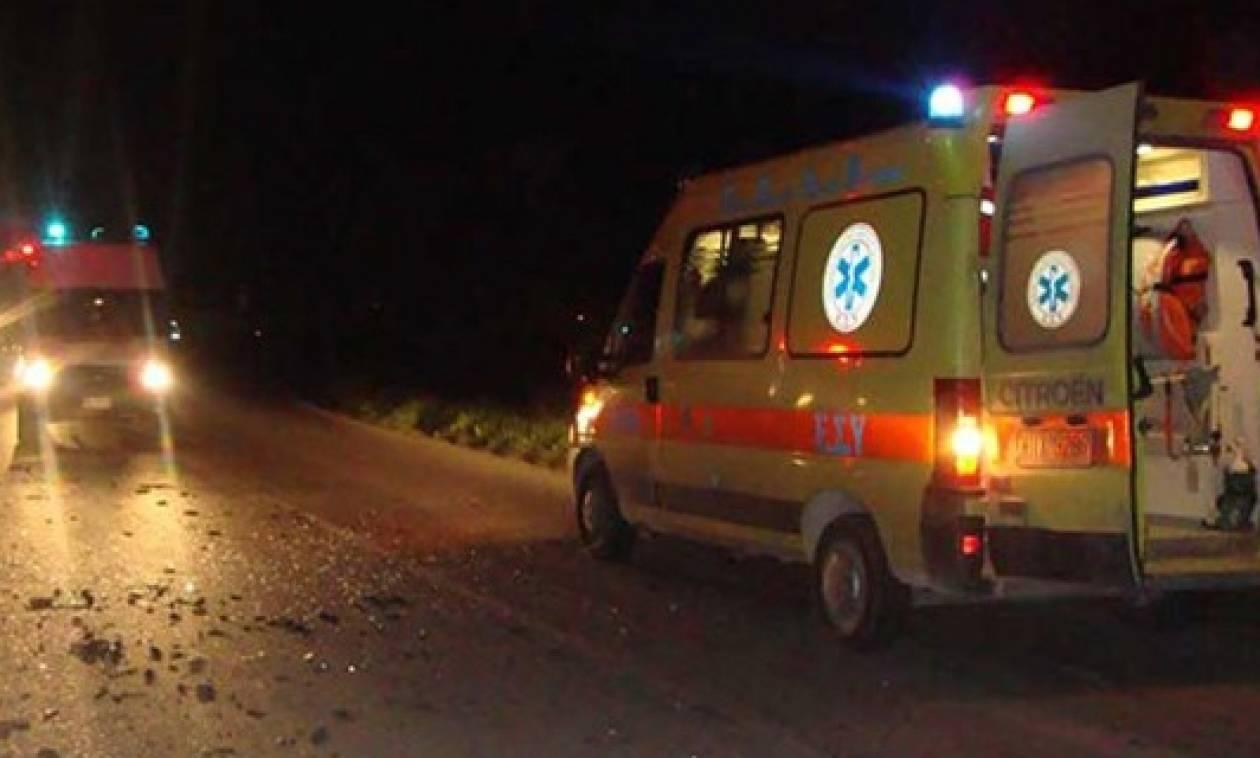 Έκλεισε η Αθηνών - Λαμίας λόγω τροχαίου! Σοβαρά τραυματισμένος ο ένας οδηγός