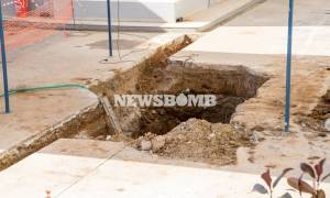 Καρέ – καρέ η εξουδετέρωση της βόμβας στο Κορδελιό