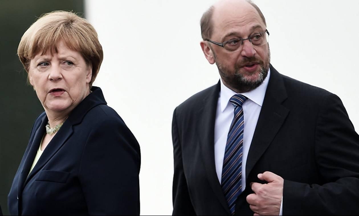 Νέα δημοσκόπηση «χαστούκι» στη Μέρκελ: Άνοδος για τον Σούλτς