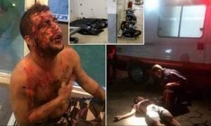 Εικόνες φρίκης: Αφήνουν πίσω τους μόνο βιασμένες και πτώματα (video+pics)