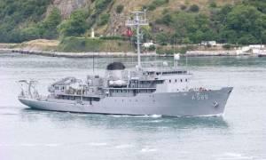 Απίστευτο θράσος: Οι Τούρκοι έβγαλαν σκάφος για έρευνες στο Αιγαίο