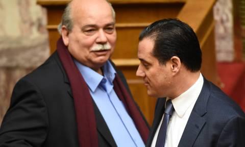 Άγριος καβγάς Βούτση - Γεωργιάδη στη Βουλή: Μη μιλάς! Δεν έχεις τον λόγο! (vid)