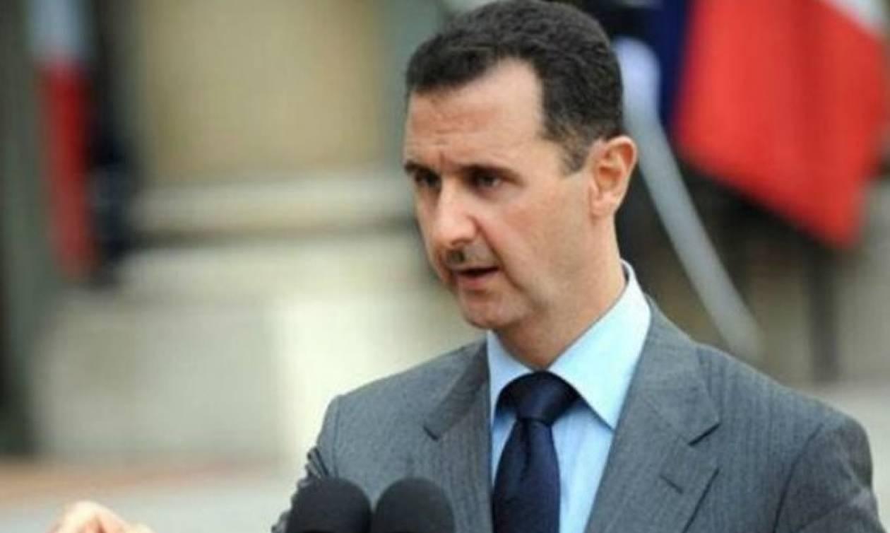 Άσαντ: Αρνήθηκε την πρόταση του Τράμπ για «ασφαλείς ζώνες»  στη Συρία