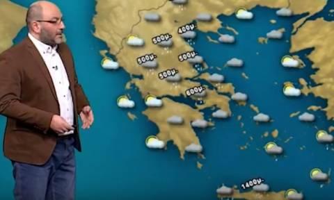 Σε αυτές τις περιοχές θα χιονίσει το Σάββατο: Η ανάλυση του Σάκη Αρναούτογλου (video)