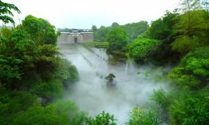 Ιστορικό δάσος και κατοικίες στην Κίνα «ταξίδεψαν» 800 χλμ κι έγιναν θέρετρο! (pics+vid)