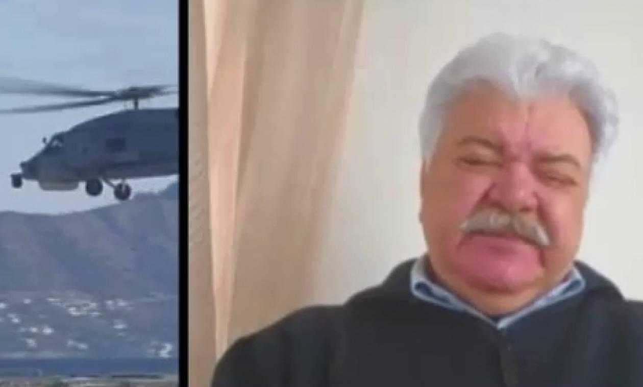 Συγκινητικό βίντεο: Τα δάκρυα του λιμενάρχη Καλύμνου για τη σημαία των Ιμίων