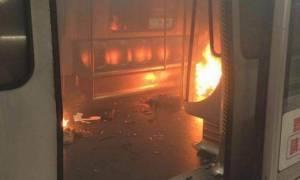 Χονγκ Κονγκ: Πυρομανής σκορπά τον τρόμο στο μετρό (ΠΡΟΣΟΧΗ - ΣΚΛΗΡΕΣ ΕΙΚΟΝΕΣ)