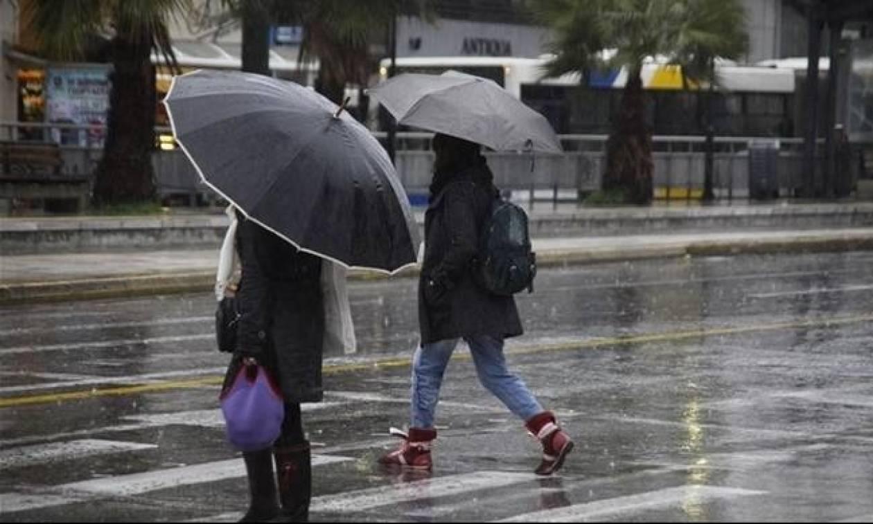 Νέα επιδείνωση του καιρού τη Δευτέρα με βροχές και πτώση της θερμοκρασίας