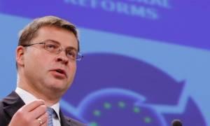 Ντομπρόβσκις: Το ΔΝΤ έχει υπερβολικά απαισιόδοξες προβλέψεις