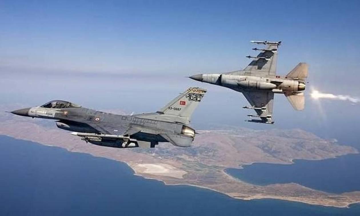 Συναγερμός στο Αιγαίο: Νέες παραβιάσεις από οπλισμένα τουρκικά αεροσκάφη