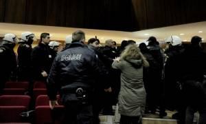Σοβαρά επεισόδια στη δίκη της Χρυσής Αυγής – Διακόπηκε και θα συνεχιστεί την Πέμπτη