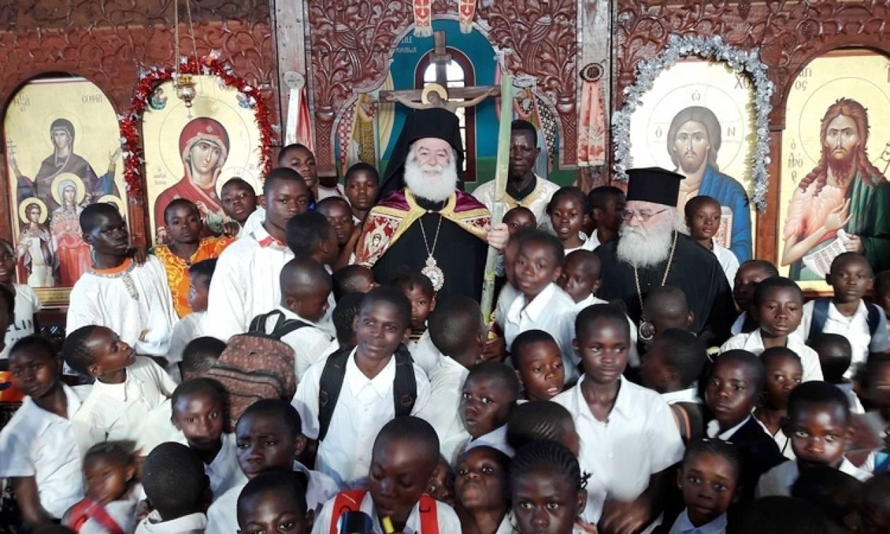 Ο Πατριάρχης Αλεξανδρείας στο Κονγκό (pics)