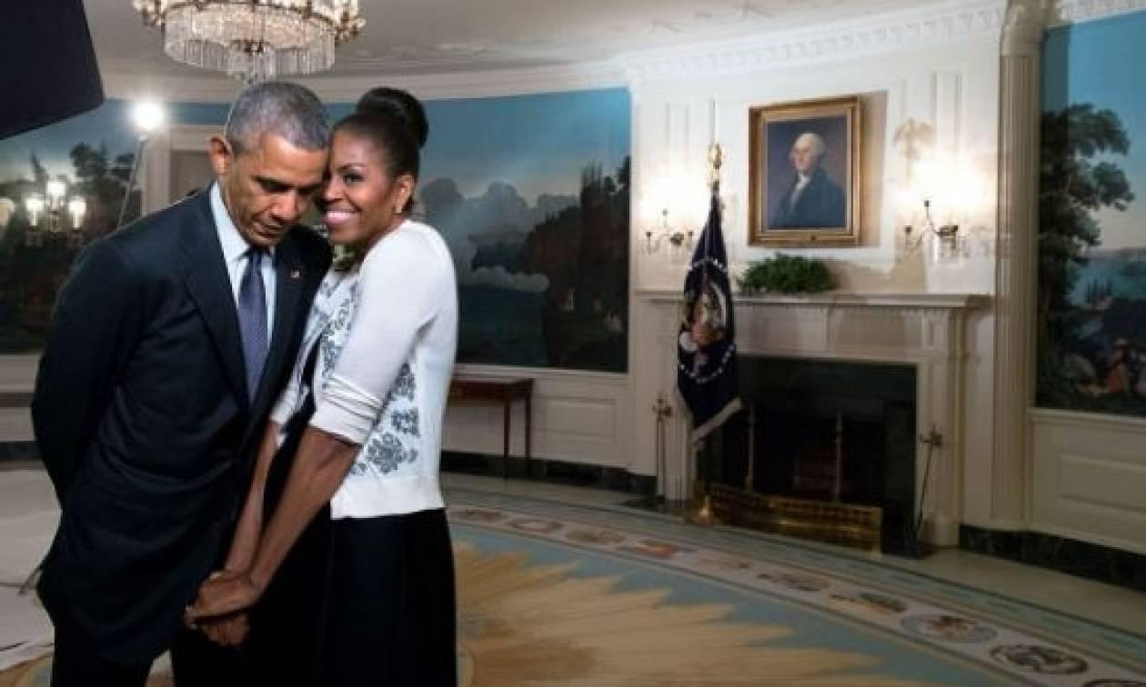ΗΠΑ: Το μήνυμα του ερωτευμένου Μπαράκ Ομπάμα στη Μισέλ!