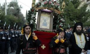 H εικόνα της Παναγίας Σουμελά στις 24/2 στην Ορεστιάδα