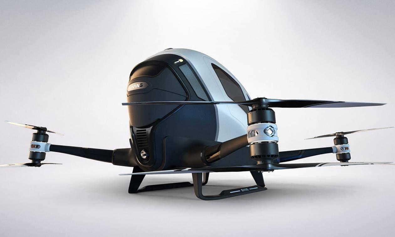Έρχεται το ταξί του μέλλοντος: Ιπτάμενο και χωρίς ταξιτζή 300 μέτρα πάνω από το έδαφος!