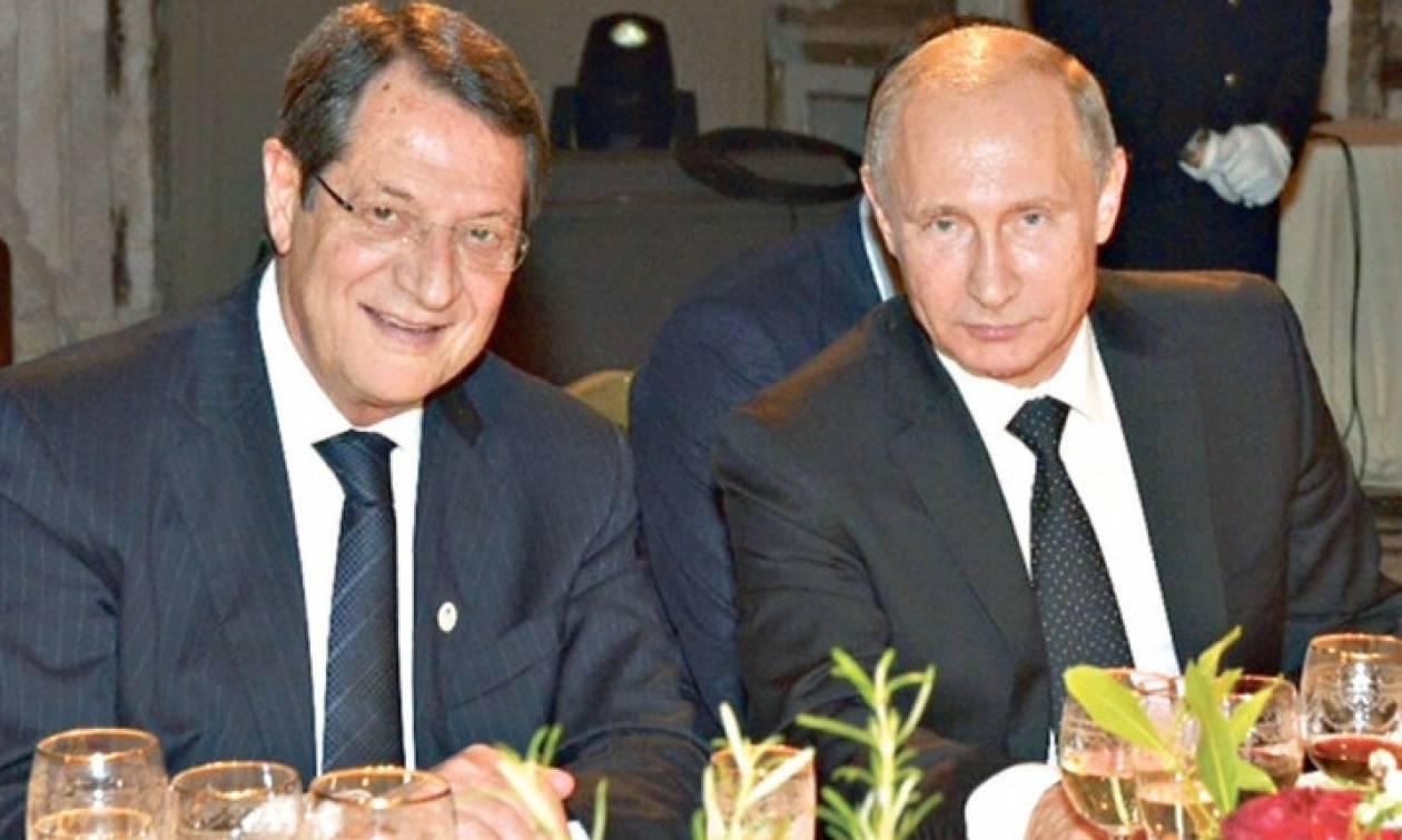Путин направил личное письмо президенту Кипра