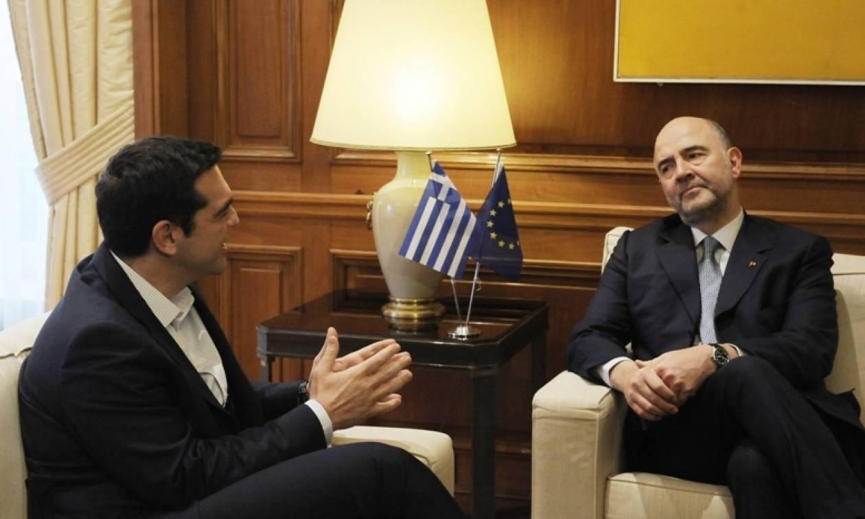 Τσίπρας σε Μοσκοβισί: Φτάνει πια με τη λιτότητα στην Ελλάδα