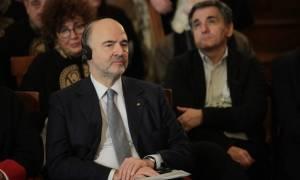 Σε κόντρα ρόλο ο Μοσκοβισί: Αναγόρευση με πολιτικό λόγο