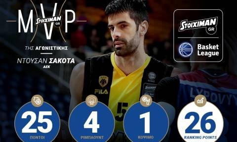 Stoiximan.gr Basket League MVP 17ης αγωνιστικής