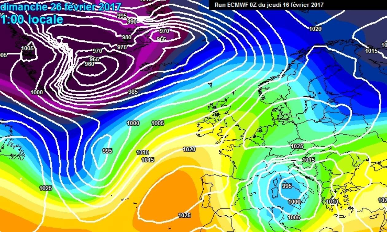 Κακά... μαντάτα για τον καιρό: Με βροχές Απόκριες και Καθαρά Δευτέρα (χάρτες)