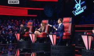 The Voice: Ο Ρουβάς αποκάλυψε την εγκυμοσύνη της... Κορινθίου