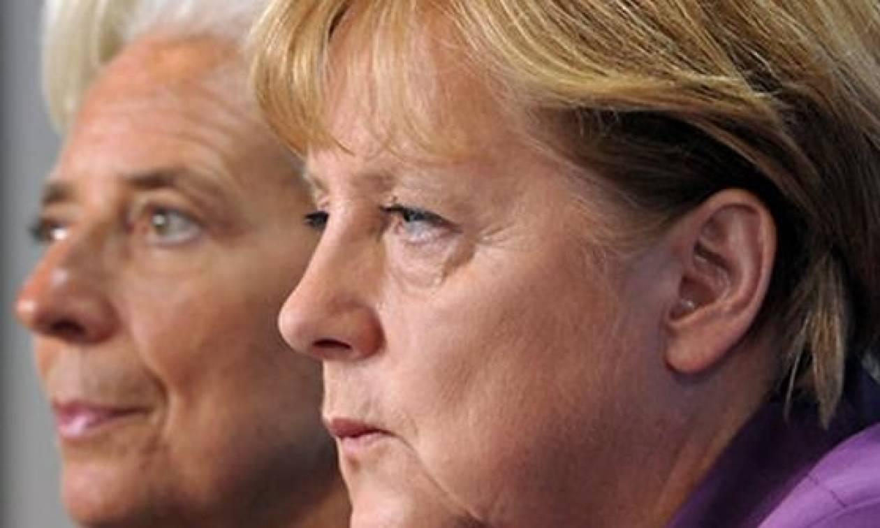 Συμφωνία Μέρκελ - Λαγκάρντ για συμμετοχή ΔΝΤ στο ελληνικό πρόγραμμα