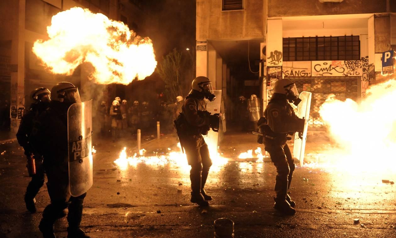 Μεταμεσονύχτια επεισόδια στην Αθήνα