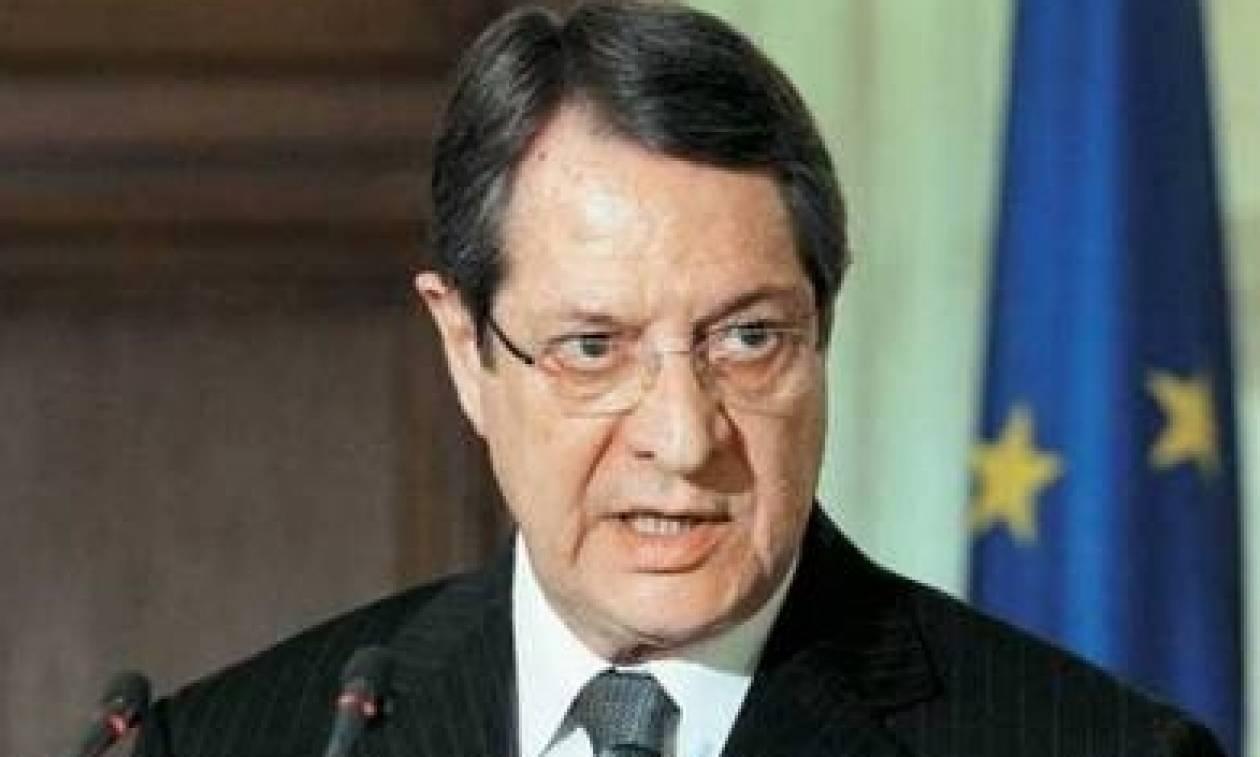 Αναστασιάδης: «Δεν δικαιολογούνται οι φοβίες της τουρκοκυπριακής πλευράς»