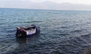 Αυτοκίνητο με δύο επιβάτες έπεσε στη θάλασσα του Αλεποχωρίου