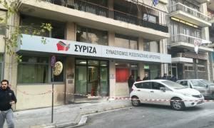 Μασκαράδες πέταξαν βόμβες μολότοφ στα γραφεία του ΣΥΡΙΖΑ (pics&vid)