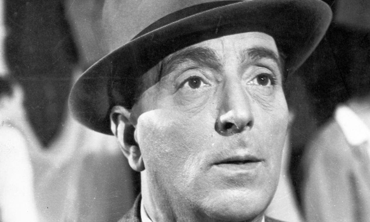 Σαν σήμερα το 1960 πέθανε ο δημοφιλής Έλληνας ηθοποιός Βασίλης Λογοθετίδης