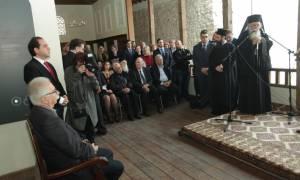 Μουσείο το σπίτι της Αγίας Φιλοθέης – Εγκαίνια από τον Αρχιεπίσκοπο Ιερώνυμο