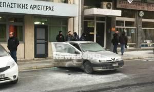 Επίθεση στα γραφεία του ΣΥΡΙΖΑ: Επτά συλλήψεις αλλά όχι για τις μολότοφ!