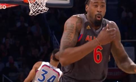 NBA All Star Game 2017: Το απίθανο κάρφωμα του Αντετοκούνμπο που... τρέλανε όλη την υφήλιο! (vid)