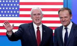 Χείρα φιλίας στην Ευρωπαϊκή Ένωση έτεινε η κυβέρνηση του Ντόναλντ Τραμπ (Vid)